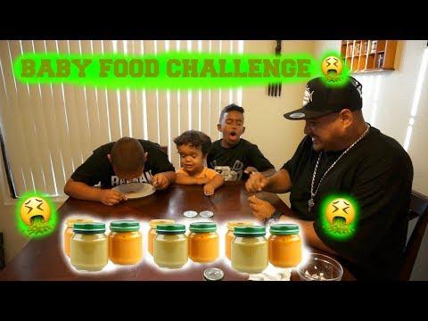 BABY FOOD CHALLENGE! * WARNING VOMITING*