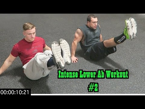 Intense 5 Minute At Home Lower Ab Workout #2