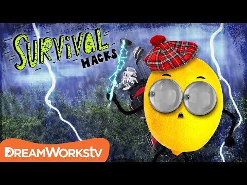 How to Avoid a LIGHTNING Strike | SURVIVAL HACKS