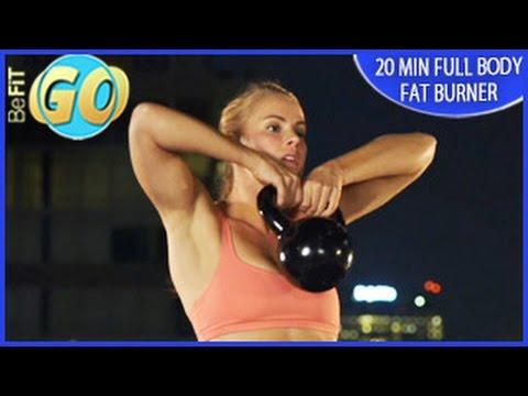 20 Min Full Body Fat Burner Mobile Workout: BeFiT GO