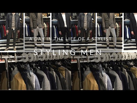 A Day In The Life Of A Stylist: Styling Men