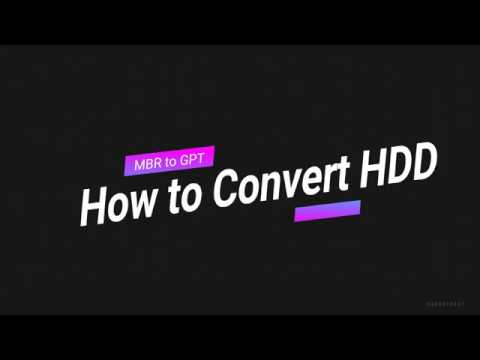 How to convert MBR to GPT disk | How to Convert MBR to GPT during Windows Installation