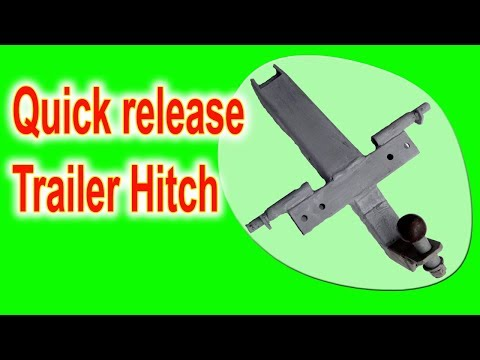 Quick release Trailer Hitch for my ractor
