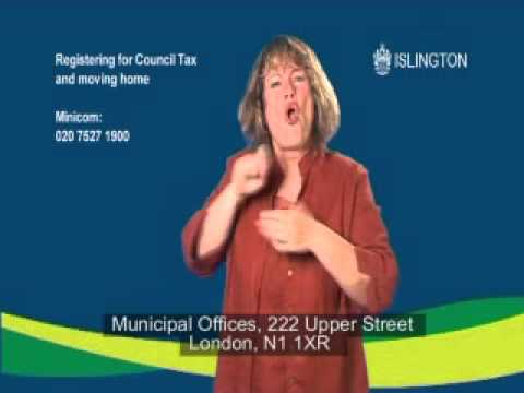 Registering for council tax/moving home