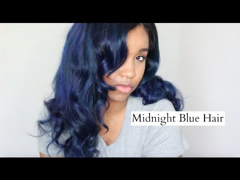 Tutorial | Midnight Blue Hair