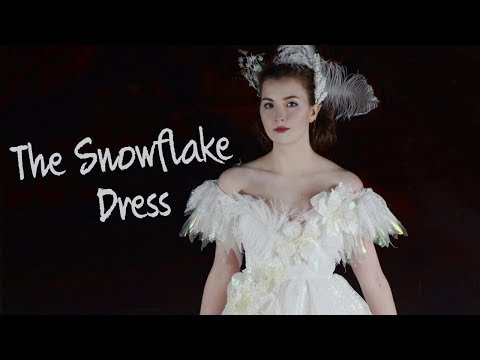 Making a Sparkly Snowflake Dress!