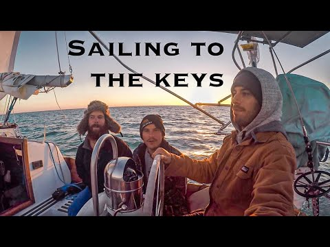 Sailing from Tampa to Key West (Ep. 9 ~ Bums on a Boat)