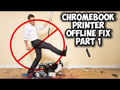 Chromebook Printer Offline Fix - Part 1...How is Chromebook Recognizing Your Printer