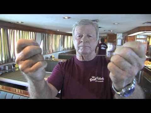 John Collins on how to tie spectra to monofilament.