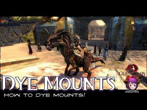 ★ Guild Wars 2 ★ - How to Dye Mounts!