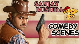 Sanjay Mishra Hindi Movie Comedy Scenes Back to Back || Back To Back Comedy Scenes