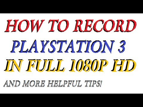 How to Record PlayStation 3 in Full 1080p w/ Roxio HD Pro (And More Helpful Tips!)