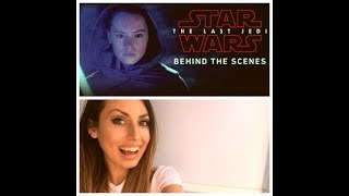 STAR WARS: The Last Jedi Behind The Scenes REACTION!