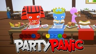 Stuffing Our Faces with FOOD! / Party Panic / Gamer Chad Plays