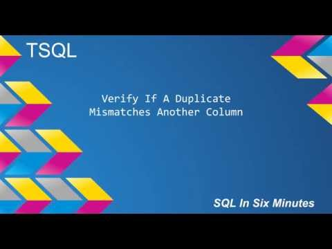 TSQL: Verify If A Duplicate Mismatches Another Column (Showing LEFT OUTER JOIN)