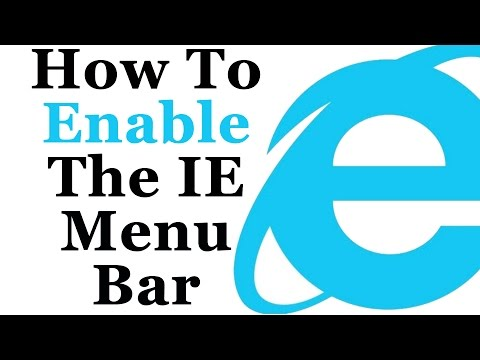 How To Enable The Command And Menu Bar In Internet Explorer