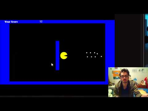 The Fan Easy Pacman game test (2/10) sorti le 23/01/2015 par DLyonsTheNewgrounds.