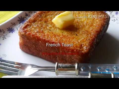 French Toast/hong kong style french toast/bread recipe
