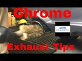 How to clean, polish and protect the chrome exhaust tips on your car or truck.
