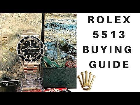 Vintage Rolex Submariner 5513 Buying Guide