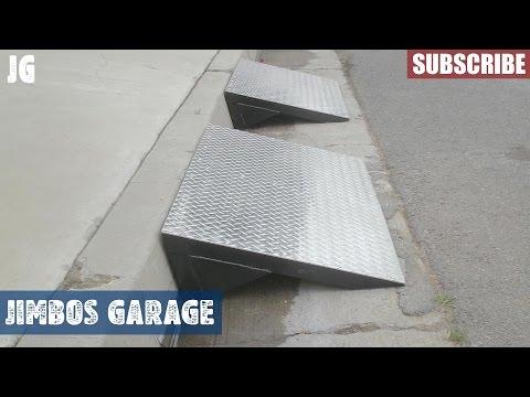 Steel Ramp Build - Jimbos Garage