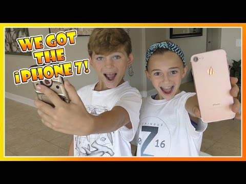 KAYLA AND TYLER GOT THE iPHONE 7! | WHAT ACCESSORIES DID THEY GET? | We Are The Davises