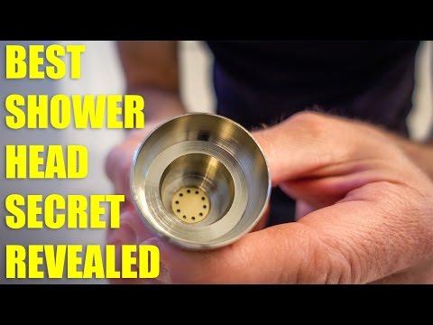 BEST SHOWER HEAD SECRET REVEALED!