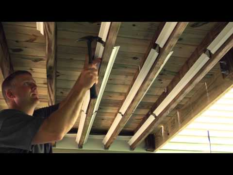 UnderDeck The Original Outdoor Ceiling Installation '15