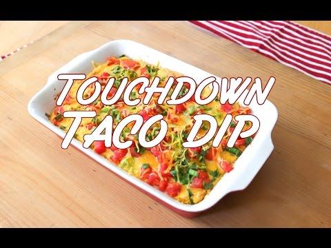 Touchdown Taco Dip