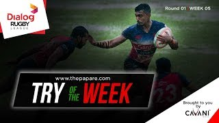 Dialog Rugby League 2017/18 – Try of the week 5