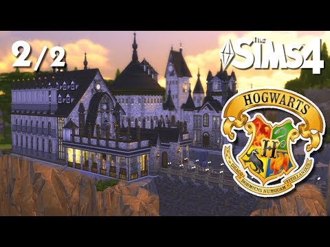 HOGWARTS - Harry Potter (PT 2)   The Sims 4 Speed Build