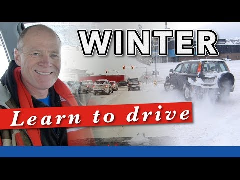 How to Learn to Drive In the Winter on Snow and Ice
