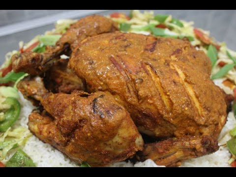 CHICKEN ROAST without oven (Pakistani/Indian style)