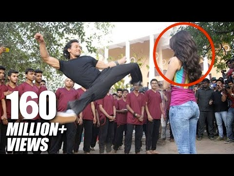 Xxx Mp4 Tiger Shroff 39 S Amazing Stunt With Shraddha Kapoor For Baaghi Promotions 3gp Sex