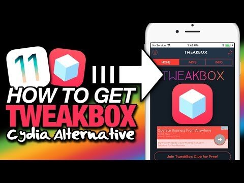 How To Get TWEAKBOX On iOS 11 (NO JAILBREAK) Cydia Apps, ++Apps & Hacked Apps