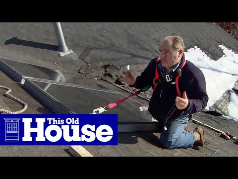 How to Install a Solar-Powered Water Heater - This Old House