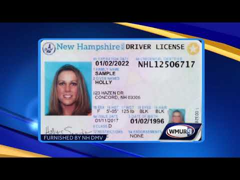 New change for redesign of NH driver's licenses announced