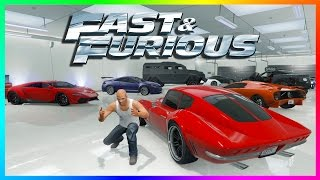 TOP 10 FAST & FURIOUS CARS TO OWN IN GTA ONLINE - BEST GTA 5 FATE OF THE FURIOUS VEHICLES (F&F CARS)