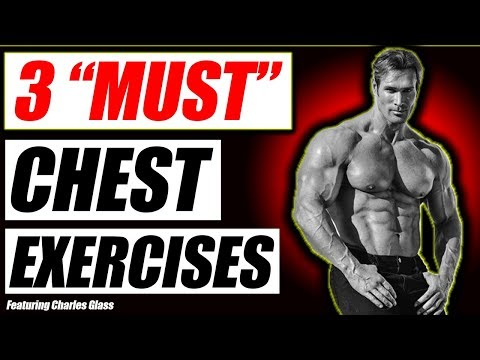 3 Chest Exercises For Longevity & Isolation | With Charles Glass