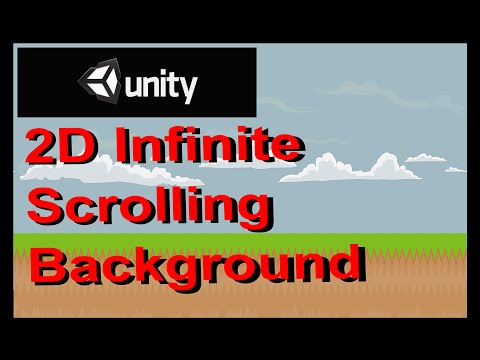 Unity - 2D Infinite Scrolling Background the Simplest Way