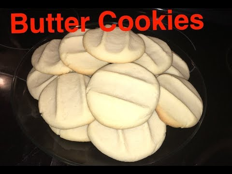How to Make: Butter Cookies