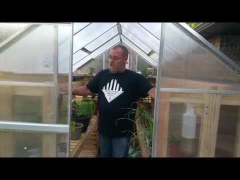 DIY Greenhouse is done! That's right our TUFTEX DIY