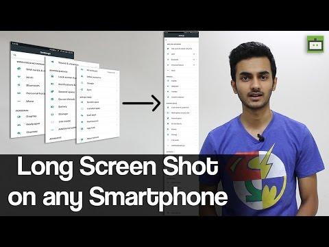 How to take a long screen shot on any Android mobile