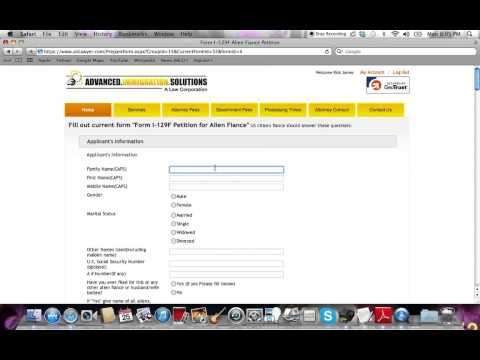 How to Fill Immigration Forms :  AIS Tutorial #1