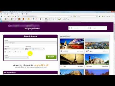 Make Money With Hotel Travel and Holiday Booking Website Affiliates