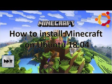 How to install Minecraft on Ubuntu 18.04