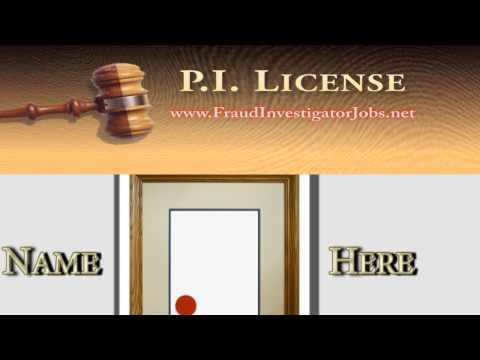 Private Investigator License & Detective Certification Info