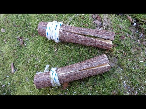 Making Wooden Pegs
