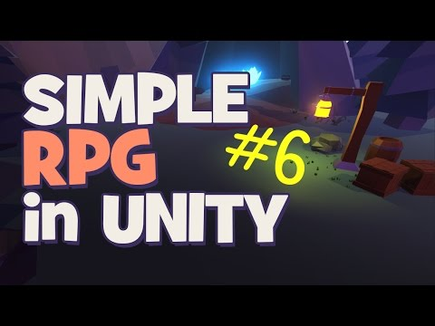 Sword Attack | Making a Simple RPG - Unity 5 Tutorial (Part 6)