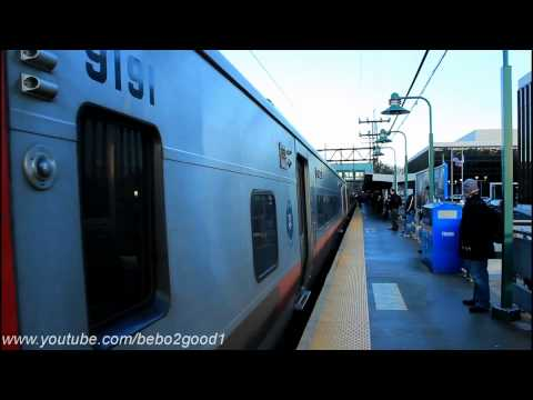 MNCR New Haven Line: Trains at Greenwich RR (Day / Night)